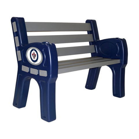 WINNIPEG JETS PARK BENCH