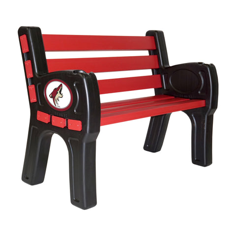 ARIZONA COYOTES PARK BENCH