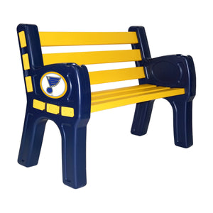 ST. LOUIS BLUES PARK BENCH