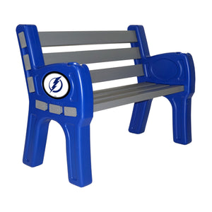 TAMPA BAY LIGHTNING PARK BENCH