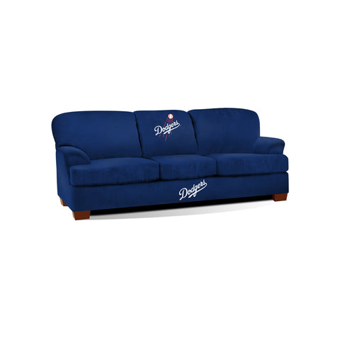 LOS ANGELES DODGERS FIRST TEAM MICROFIBER SOFA