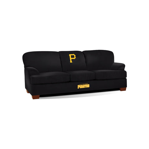 PITTSBURGH PIRATES FIRST TEAM MICROFIBER SOFA