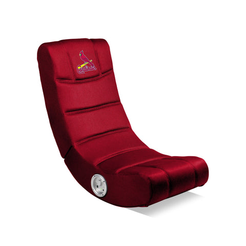 ST LOUIS CARDINALS VIDEO CHAIR WITH BLUETOOTH