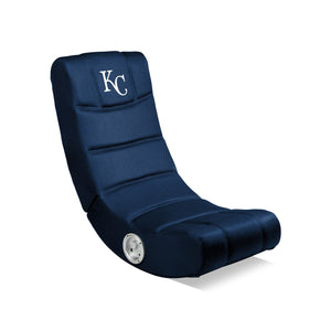 KANSAS CITY ROYALS VIDEO CHAIR WITH BLUETOOTH