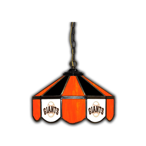 SAN FRANCISCO GIANTS 14in. GLASS PUB LAMP