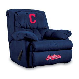CLEVELAND INDIANS HOME TEAM MICROFIBER RECLINER