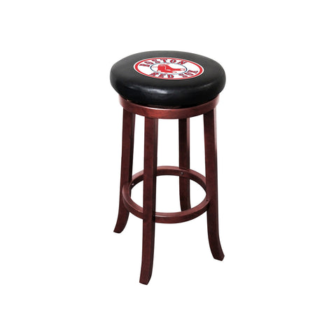 BOSTON RED SOX WOODEN BAR STOOL