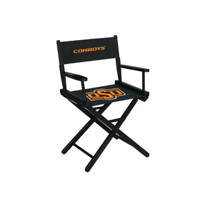 OKLAHOMA STATE UNIVERSITY DIRECTORS CHAIR-TABLE HEIGHT