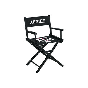 TEXAS A & M DIRECTORS CHAIR-TABLE HEIGHT