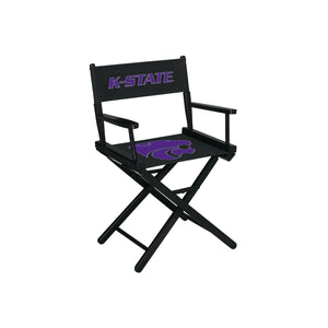 KANSAS STATE UNIVERSITY DIRECTORS CHAIR-TABLE HEIGHT