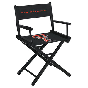 TEXAS TECH DIRECTORS CHAIR-TABLE HEIGHT