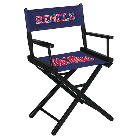 UNIVERSITY OF MISSISSIPPI DIRECTORS CHAIR-TABLE HEIGHT