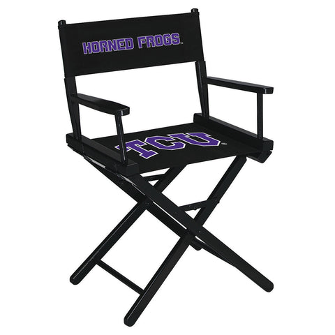 TEXAS CHRISTIAN UNIVERSITY DIRECTORS CHAIR-TABLE HEIGHT