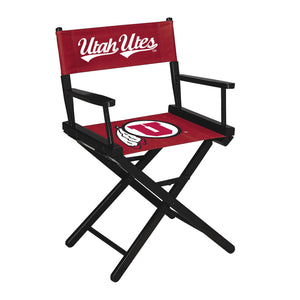 UNIVERSITY OF UTAH DIRECTORS CHAIR-TABLE HEIGHT