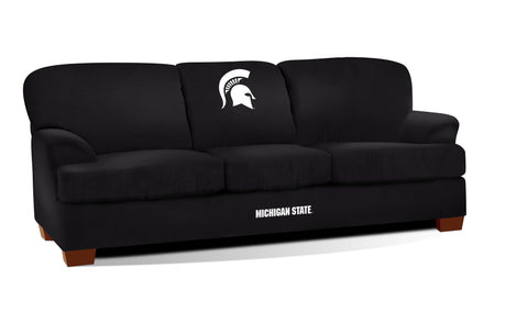 MICHIGAN STATE FIRST TEAM MICROFIBER SOFA