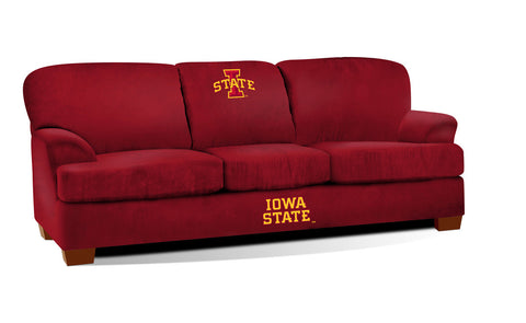 IOWA STATE UNIVERSITY FIRST TEAM MICROFIBER SOFA