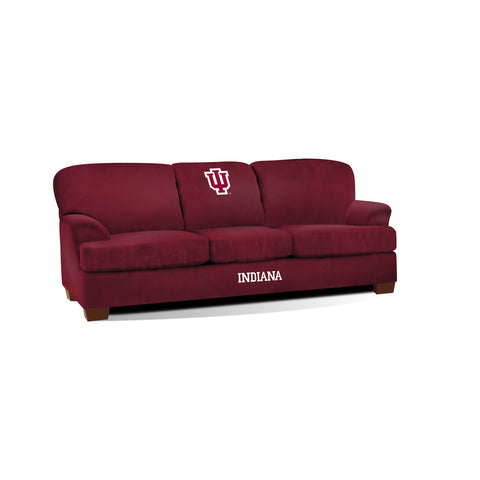 INDIANA UNIVERSITY FIRST TEAM MICROFIBER SOFA