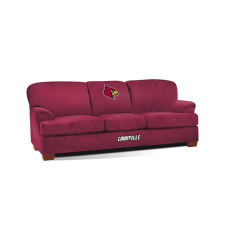 UNIVERSITY OF LOUISVILLE FIRST TEAM MICROFIBER SOFA