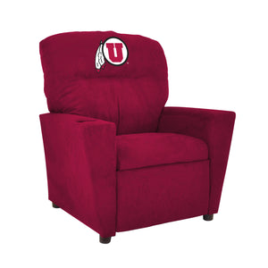 UNIVERSITY OF UTAH KIDS RECLINER MICROFIBER
