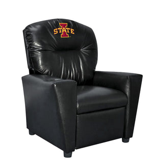 IOWA STATE UNIVERSITY FAUX LEATHER KIDS RECLINER