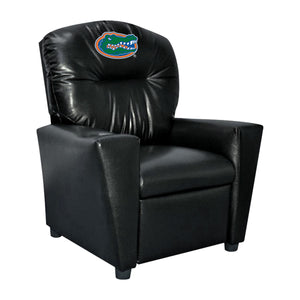 UNIVERSITY OF FLORIDA FAUX LEATHER KIDS RECLINER