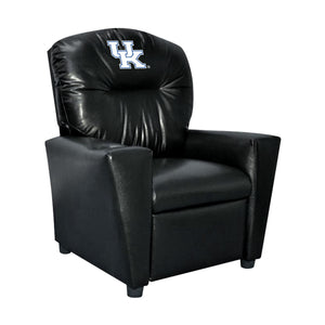 UNIVERSITY OF KENTUCKY FAUX LEATHER KIDS RECLINER