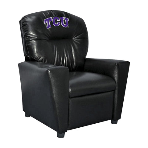 TCU FAUX LEATHER KIDS RECLINER