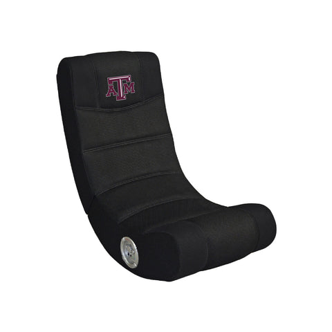 TEXAS A & M VIDEO CHAIR WITH BLUE TOOTH