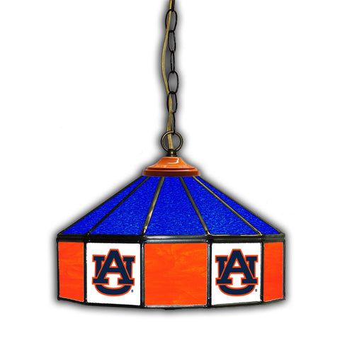 AUBURN UNIVERSITY 14in. GLASS PUB LAMP