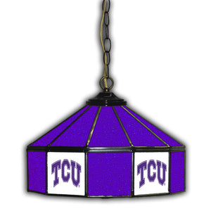 TCU 14in. GLASS PUB LAMP