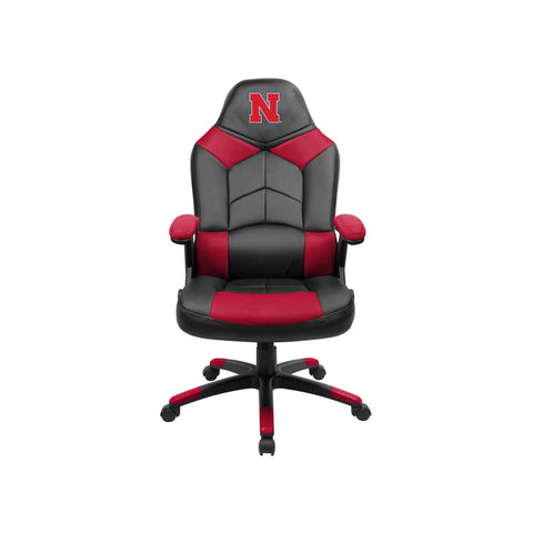 UNIVERSITY OF NEBRASKA OVERSIZED GAMING CHAIR