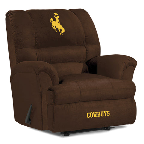 UNIVERSITY OF WYOMING BIG DADDY MICROFIBER RECLINER