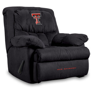 TEXAS TECH HOME TEAM MICROFIBER RECLINER