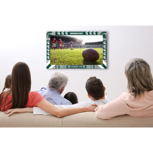 MICHIGAN STATE BIG GAME TV FRAME