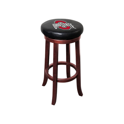 OHIO STATE WOODEN BAR STOOL