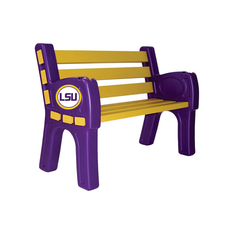 LOUISIANA STATE UNIVERSITY PARK BENCH