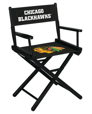 CHICAGO BLACKHAWKS TABLE HEIGHT DIRECTORS CHAIR