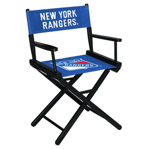 NEW YORK RANGERS TABLE HEIGHT DIRECTORS CHAIR