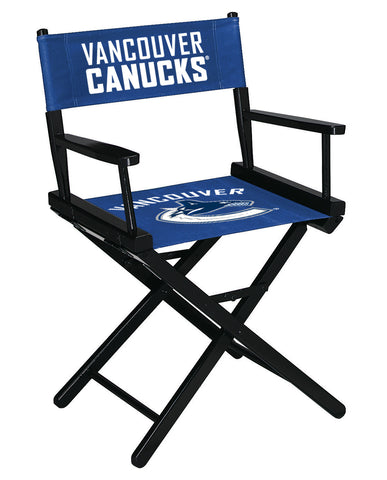 VANCOUVER CANUCKS TABLE HEIGHT DIRECTORS CHAIR
