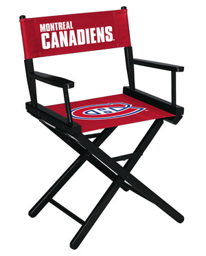 MONTREAL CANADIENS TABLE HEIGHT DIRECTORS CHAIR