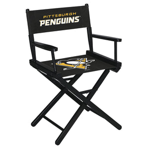 PITTSBURGH PENGUINS TABLE HEIGHT DIRECTORS CHAIR