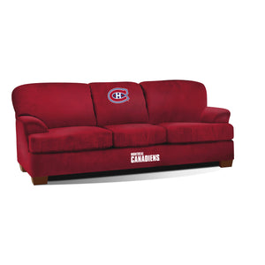 MONTREAL CANADIENS FIRST TEAM MICROFIBER SOFA