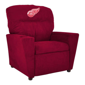DETROIT REDWINGS KIDS MICROFIBER RECLINER
