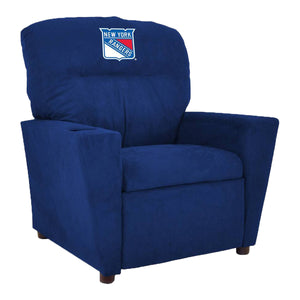 NEW YORK RANGERS KIDS MICROFIBER RECLINER