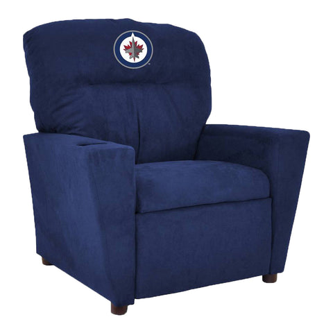 WINNIPEG JETS KIDS MICROFIBER RECLINER