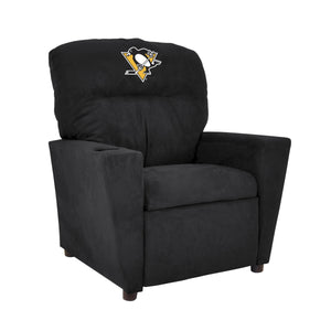 PITTSBURGH PENGUINS KIDS MICROFIBER RECLINER