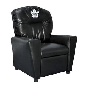 TORONTO MAPLE LEAFS FAUX LEATHER KIDS RECLINER