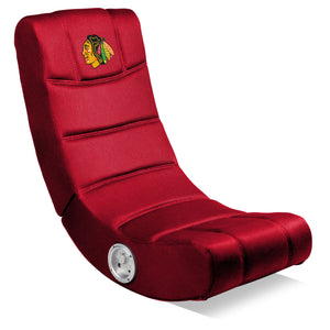 CHICAGO BLACKHAWKS VIDEO CHAIR WITHBLUETOOTH