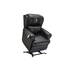 PHILADELPHIA FLYERS COACH LEATHER LIFT CHAIR
