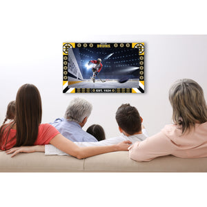 BOSTON BRUINS BIG GAME TV FRAME